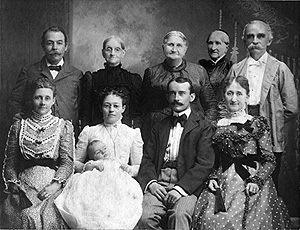 Members of the Boyd and Fry Families